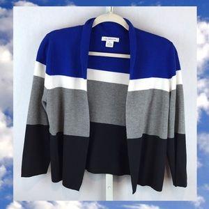 Liz Claiborne Cropped Cardigan Sweater - Size M